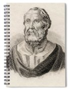 Plato From Crabbes Historical Dictionary Spiral Notebook