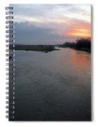 Platte River, Nebraska Spiral Notebook