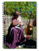 Play A Song For Me Spiral Notebook