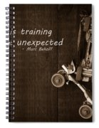 Play Is Training For The Unexpected Spiral Notebook