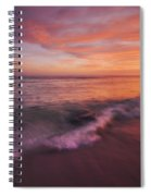 Playa De Fuego  Spiral Notebook