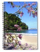 Playa Espadillia Sur Manuel Antonio National Park Costa Rica Spiral Notebook