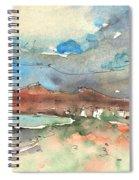 Playa Honda In Lanzarote 01 Spiral Notebook