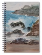 Playa Zicatela Mexico Spiral Notebook