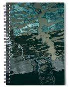 Playful Abstract Reflections Spiral Notebook