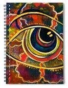 Playful Spirit Eye Spiral Notebook
