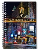 Playhouse Square Spiral Notebook