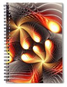 Playing Dragons Spiral Notebook