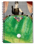 Playing Pool My Way Spiral Notebook