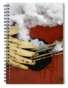 Playing The Cold Blues Spiral Notebook