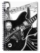 Playing With Lucille - Bb King Spiral Notebook