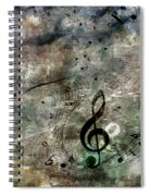 Playing Your Song Spiral Notebook