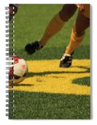 Plays On The Ball Spiral Notebook