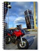Plaza De Castilla Spiral Notebook
