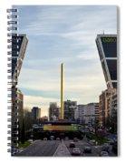Plaza De Castilla Spiral Notebook
