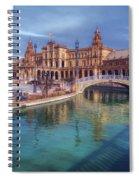 Plaza De Espana Seville II Spiral Notebook
