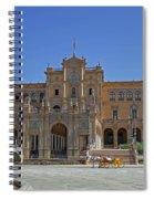 Plaza De Espana Spiral Notebook