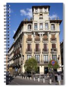 Plaza De Ramales Tenement House Spiral Notebook