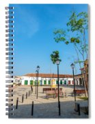 Plaza In Mompox Spiral Notebook