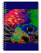 Pleasant Pheasant  Spiral Notebook