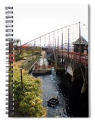 Pleasure Beach Roller Coaster Spiral Notebook