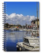 Pleasure Of Boating Spiral Notebook
