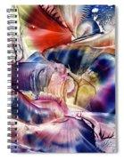 Pleiades Above Spiral Notebook