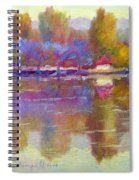 Plein Air Jacaranda Spiral Notebook