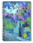 Plein Air Lilacs Spiral Notebook