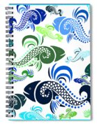 Plenty Of Fish In The Sea 4 Spiral Notebook
