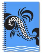 Plenty Of Fish In The Sea 4 Fish Spiral Notebook