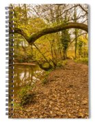 Plessey Woods Riverside Footpath Spiral Notebook