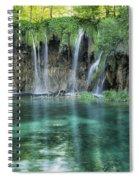 Plitvice Falls Spiral Notebook
