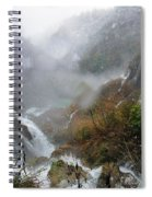 Plitvice Lakes In Winter 4 Spiral Notebook