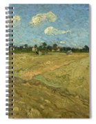 Ploughed Fields - The Furrows Spiral Notebook