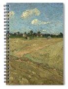 Ploughed Fields Spiral Notebook