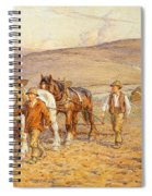 Ploughing Spiral Notebook