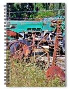 Plows Spiral Notebook