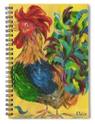 Plucky Rooster  Spiral Notebook