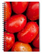 Plum Tomatoes Spiral Notebook