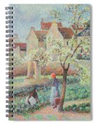 Plum Trees In Flower Spiral Notebook
