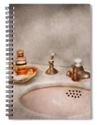 Plumber - First Thing In The Morning Spiral Notebook