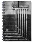 Plumbing Symmetry Spiral Notebook