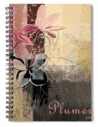 Plumeria - 64-115152167m4t3b Spiral Notebook