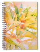 Plumeria Fireworks Spiral Notebook