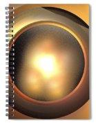 Plutoid Spiral Notebook
