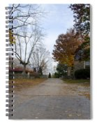 Plymouth Meeting Friends In Autumn Spiral Notebook