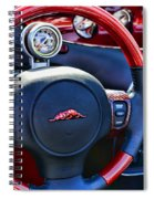 Plymouth Prowler Steering Wheel Spiral Notebook