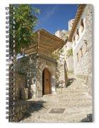 Pocitelj Village In Bosnia Spiral Notebook