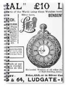 Pocket Watches, 1888 Spiral Notebook